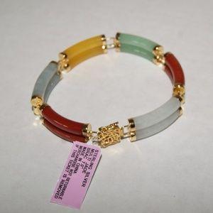 JADE  Sterling Silver Bracelet  bracelet